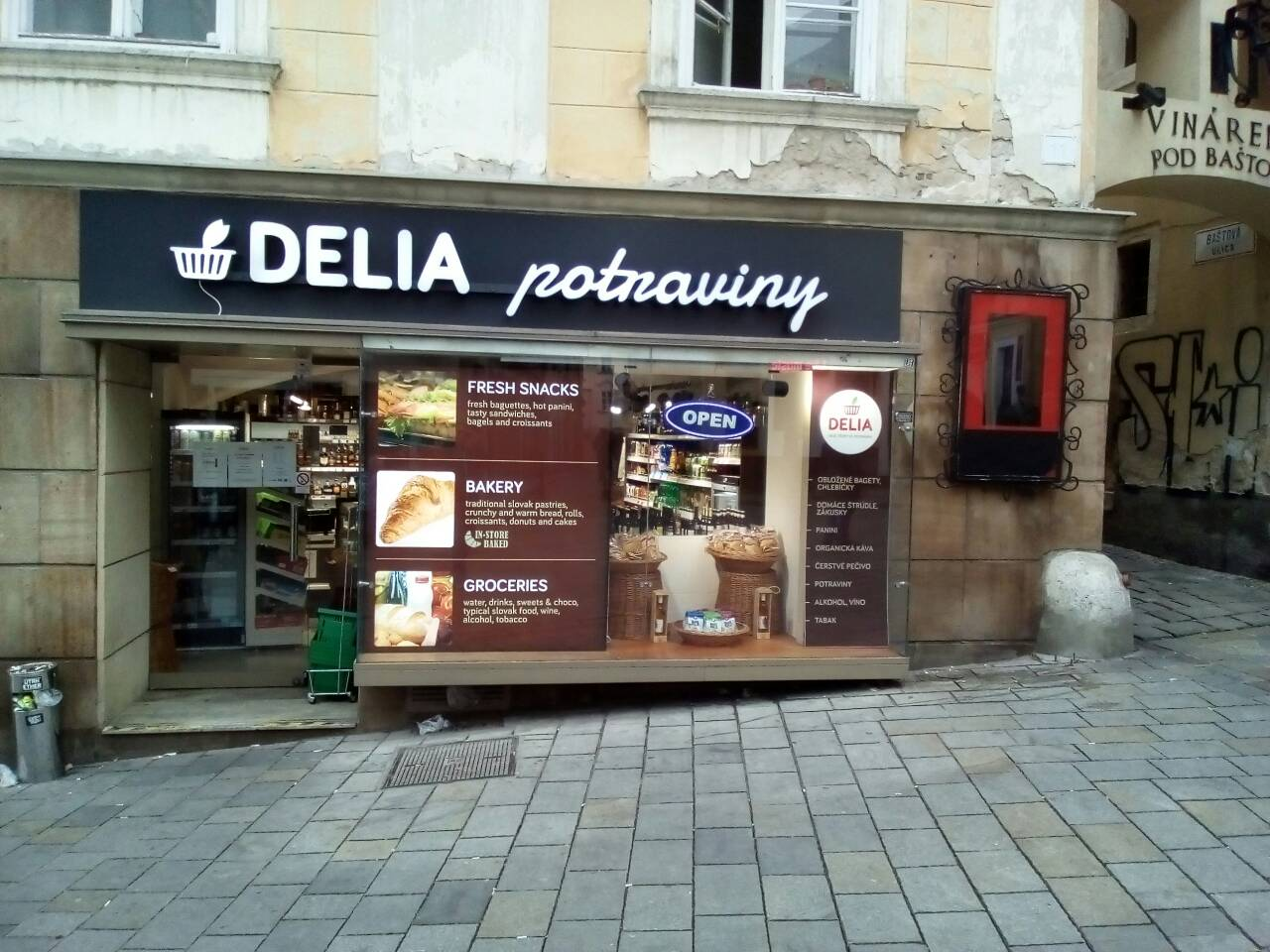 048b908a9 Michalská Ulica 1 - DELIA Potraviny
